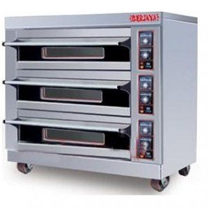 Lò nướng bánh 3 tầng dùng điện