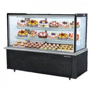 Tủ mát trưng bày bánh kính vuông RCS09SB13 - 2FB