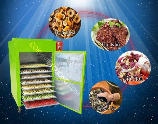 Tủ sấy công nghiệp,sấy rau củ quả, thủy hải sản, nông sản,thảo dược thực phẩm công nghiệp