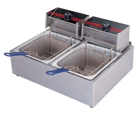 Bếp chiên nhúng đôi dùng điện DF11D - 17