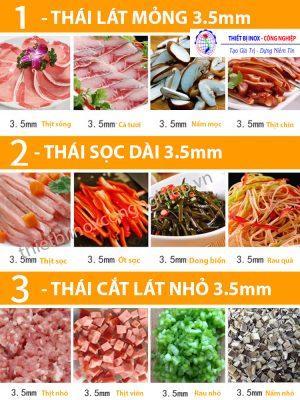Ứng dụng máy cắt thịt